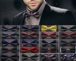 Wholesale Wholesale Embroidered Letters - Unisex Neck Bowtie Bow Tie Adjustable Bow Tie high quality metal adjustment buckles multi-style