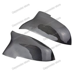 Wholesale Replacement Carbon - Carbon Fiber Rearview Wing Replacement Door Mirror Cover Trim For BMW 1 3 Series DT F30 F31 F34 F22 F23 F20 F21 F33