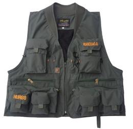 Wholesale Photography Works - Wholesale- Quick-Drying Vest Multi-pocket Vest Photography Waistcoat Working Vest VT-023