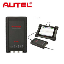 Wholesale Automotive Digital Oscilloscope - 2017 New Arrival Autel MaxiScope MP408 4-Channel Automotive Oscilloscope Basic Kit Works with Maxisys Tool Autel MaxiScope MP408 Interface