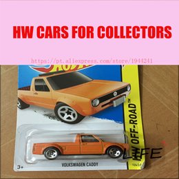 Wholesale Volkswagen Hot Wheels - Toy cars Hot Wheels 1:64 Volkswagen Caddy Car Models Metal Diecast Cars Collection Kids Toys Vehicle For Children Juguete