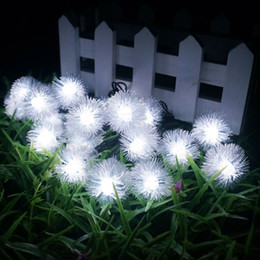 Wholesale Fairy Snow - 10M 100Leds LED strip Snowball xmas strip lights outdoor and indoor fairy lighting decoration string Christmas strip snow balls