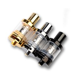Wholesale Double Tank Atomizer - Glass Vaporizer Tanks 510 Thread Atomizer E Cig Tank with Double Ijust Coil 0.5ohm 2ml Capacity for Electronic Cigarettes Vape Mod Battery