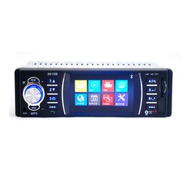 Wholesale Mp4 Player Tv Tuner - 3.6'' Car DVD Bluetooth MP3 MP5 Handsfree Rearview Backup Camera Car Audio Stereo Car Video