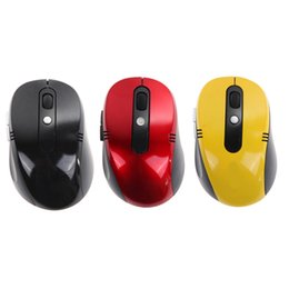 Wholesale high quality computer mouse - Wholesale- New Portable Optical Wireless Computer Mouse USB Receiver RF 2.4G For Desktop & Laptop PC Computer Peripherals High Quality