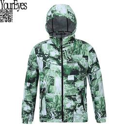 Wholesale Trench Coat Waterproof Woman - 2016 Autumn Waterproof Windbreaker Outwear Fashion Camo Jacket For Men Women Trench With Army Green Camouflage Print Coat Homme