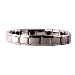 Wholesale Germanium Jewelry - Tourmaline Energy Balance Bracelet Tourmaline Bracelet Health Care Jewelry For Women Germanium Magnetic Bracelets & Bangle