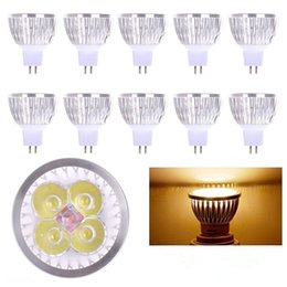 Wholesale Cree Led Light Bulbs Sale - Hot Sale 12W High Power LED Spot Light Bulb 4Led MR16 GU10 E26 E27 E14 GU5.3 Spotlight LED Lighting 20pcs lot