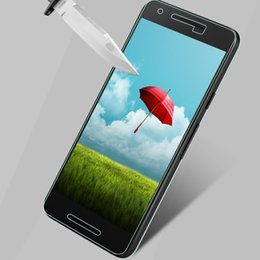Wholesale Body Google - Wholesale-Original 0.26mm Tempered Glass Filmfor For Google Nexus 5X Ultra Thin Screen Protector 9H Hard 2.5D