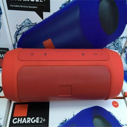 Wholesale Free Button Sounds - Free shipping Nice Sound Charge 2+ Bluetooth Outdoor speaker phone call Mini Speaker Waterproof Speakers Can Be Used As Power Bank