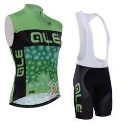 Wholesale Mens Road Cycling Jersey - Hot Sale! pro team ale Cycling Sleeveless Jersey Quick dry MTB Bicycle Gilet Road Bike clothing Ropa Ciclismo mens cycling vest D0825