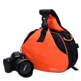 Wholesale Pentax Camera Flash - CADEN K2 professional camera bag for SLR Canon Olympus Sony Pentax Nikon tripod, etc. 300D nylon waterproof anti-wear wear portable all-ro