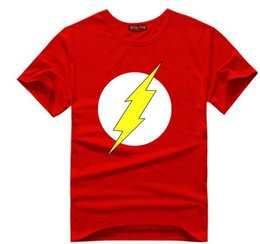 Wholesale Wholesale Bangs - Wholesale- The BIG BANG Theory T-SHIRT the flash print women and men t shirts hot selling casual Tee shirt S~XXL cotton clothing dropship