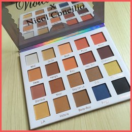 Wholesale Eye Shadow Palette Contour Makeup - Free Shipping by ePacket NEW Violet Voss X Nicol Concilio Pro Eye Shadow Palette 20 color eyeshadow palette Contour Professional Makeup