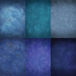 Wholesale Custom Wedding Backdrops - Custom 5X8FT Blue Chormakey Cloudy For Studio Photography Background Camera Wedding Props Photos Vinyl Backdrops Digital Cloth Children Baby