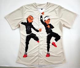 Wholesale Baseball Custom T Shirts - REAL USA SIZE Custom made B...s Rare Riley Hit them Folks Dance 3D Sublimaiton Print Unisex Baseball t-shirt Plus Size 3XL 4XL 5XL 6XL