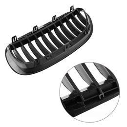 Wholesale Auto Front Grille - 1Pair Auto Car Glossy Black Front Grille Bumper Grill For BMW 6 Series E63 2005-2010