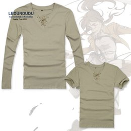 Wholesale Attack Giants - Giant t-shirts Shingeki no Kyojin Cosplay Costumes Tees Attack on Titan Eren Men Tops Kagerou Project Kano Shuuya T shirts Men Tops