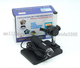 Wholesale Usb Microscope Software - 1000x USB Digital Microscope + holder(new), 8-LED Endoscope with Measurement Software usb microscope FREE SHIPPING MYY