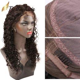 Wholesale Deep Wave Human Hair Wigs - 360 Lace Wigs Deep Wave Brazilian Human Hair Wigs 130% 150% 180% Density Bella Hair Julienchina Bella Virgin Hair