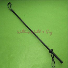 Wholesale Leather Floggers Sex Whips - Black Delicate Leather Whip With Lash Strap Fetish Spanking Floggers Adult Game For Couple Roleplay Flog Toy Sex Whip Erotic Toy