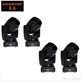 Wholesale Moving Light Gobos - Freeshipping 4 Unit 60W LED Moving Head light with 5 gobos White Rainbow Effect DJ Entertainment Light 13 Degree Beam Angle