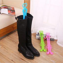 Wholesale Hotel Hangers - 300 PCS New Trendy Plastic Long Boots Shaper Supporter Shaft Keeper Holder Organizer Storage Hanger