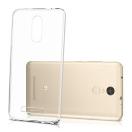 Wholesale Shock Note2 - Flexible 0.33mm Slim Shock Absorption Crystal Clear Soft Durable Rubber TPU Cover for Redmi 2 3X 3s 4A NOTE note2 note3 note4 PRO