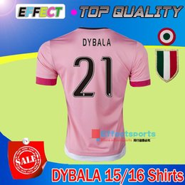 Wholesale Soccer Jerseys Pirlo - 2015 16 Old Pink Juv Legion jerseys DYBALA Soccer Jerseys CHIELLINI POGBA MARCHISIO Pirlo Higuain Alex Sand Coppa Italia Football Shirts