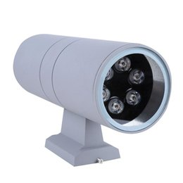 Wholesale Super Lights For Sale - Hot sale Double 12W Led Super Bright Waterproof Outdoor Wall Lamps For Yard Corridor Villas Parks Lighting Double Head Leds AC85~265V