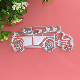 Wholesale Convertible Cars - Convertible Car Metal DIY Cutting Dies Stencil Scrapbook Card Album Paper Embossing Craft