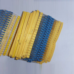 resistor packs Promo Codes - Wholesale- 1W 30valuesX10pcs=300pcs Metal Film Resistor Kit 1R~1M Resistor Pack 1% Torlerance
