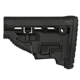 Wholesale Mags Magazine - Tactical M4 AR-15 Survival Buttstock w Built-in Magazine Carrier GL-MAG Fits Perfectly on Both Mil-Spec and Aftermarket Commercial Tubes