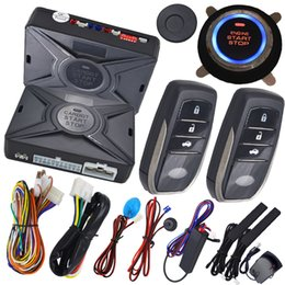 Wholesale Ignition Security - smart key ignition start stop button car security alarm system bypass chip key immobilizer output after engine start action