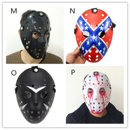 Wholesale Jason Face - New Jason Voorhees Friday the 13th Horror Movie Hockey Mask Scary Halloween Mask