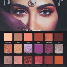Wholesale Wholesaler Beauty - 2017 Brand Beauty Desert Dusk Eyeshadow Palette Makeup 18 Colors Eye Shadow Cosmetics Best quality DHL