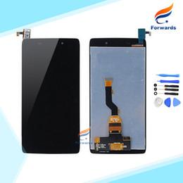 pièces alcatel Promotion Vente en gros - Pièces de rechange pour Alcatel One Touch Idol 3 6039 OT6039 Écran LCD avec Assemblée de numériseur d'écran tactile 1 pcs livraison gratuite