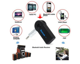Wholesale Bluetooth Music Audio Stereo Receiver - car Bluetooth kit AUX 3.5MM Audio Music Receiver Car Kit MP3 Bluetooth MIC adaptor dongle 3.0 A2DP Handsfree Retail Box POST
