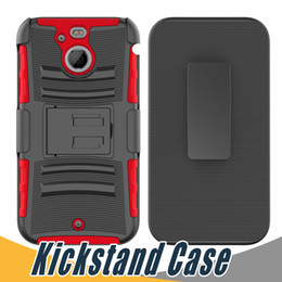 Wholesale Note S Tpu Cases - Hybrid Armor Case 3 in 1 with Kickstand PC+TPU For Samsung S6 Edge Plus S Note 2 Epic 4G Touch S III HTC U Play U Ultra F100 Bolt B200 10