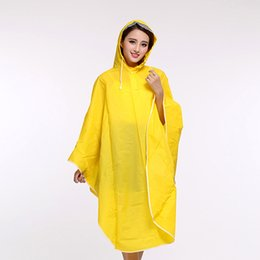 Wholesale Waterproof Cycling Cape - Rain Coat Rainwear Rain suit bicycle Waterproof cycle Raincoat bike poncho Scooter Cape candy color bike poncho plain universal