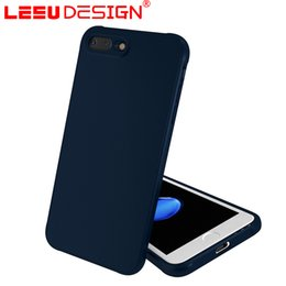 Wholesale Premium Sounds - LEEU DESIGN case For iphone 6 7plus premium original print with stereo sound speake Soft shockproof oil painting case for phone