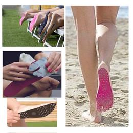 Wholesale Black Pad Wholesale - Summer Nakefit Soles Invisible Beach Shoes Nakefit Foot Pads Prezzo Nakefit Shoes Beach Foot Feet Pads Mixed Colors S M L Size 3002029