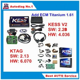 Wholesale Honda Tuning Kit - Full Set KESS V2.30 + KTAG V2.13 Master KESS V2 V4.036 OBDII Manager Tuning Kit No Tokens K-TAG K TAG V6.070 ECU Programmer