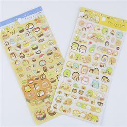 Wholesale San X Stationery - Wholesale- New 1pcs Kawaii Scrapbooking Corner Creature Ver 3 Planner Stickers decoration Label cartoon Korea Stationery san-x Memo Pads