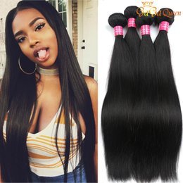 Wholesale Grade A Mink Brazilian Straight Hair Weave Unprocessed Brazilian Virgin Hair Straight peruvian malaysian indian Human Hair Extensions