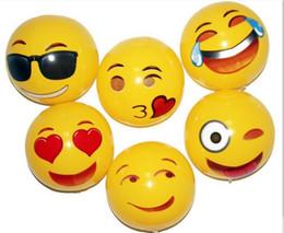 zaino pistole ad acqua Sconti 30 CM PVC Beach Ball Party Toys Emoji Espressione Viso Palla Gonfiabile Adulto Bambini Sabbia Gioco Acqua Divertimento Giocattoli Rifornimenti Del Partito HH7-811