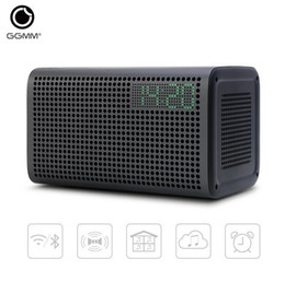 Wholesale Alarm System Phone - GGMM E3 WiFi Wireless Bluetooth Speaker Audio Music Home Theatre Stereo System Computer Speakers with LED Alarm Loudspeakers