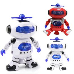 Wholesale Montessori Materials Wholesale - Funny Electronic Walking Dancing Smart Space Robot Astronaut Kids Music Light Toys montessori materials