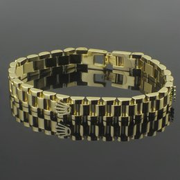 Wholesale 18k Gold Mens Bangle - Mens palm chain bracelets bangles high quality stainless steel new designer fashion lovers armillas jewelry 2017 hot selling Armband