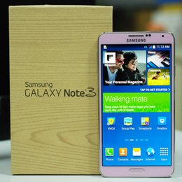 Wholesale Galaxy Note Pink - Refurbished Samsung Galaxy Note 3 Moblie Phone N900A N900T N900P N900V N9005 N9006 5.7 inch Quad Core 4G LTE Phone Original LCD
